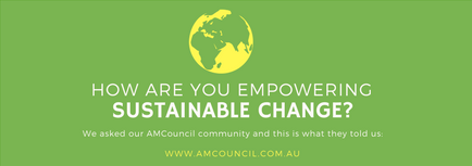 We asked our AMCouncil community Click here to see what they told us
