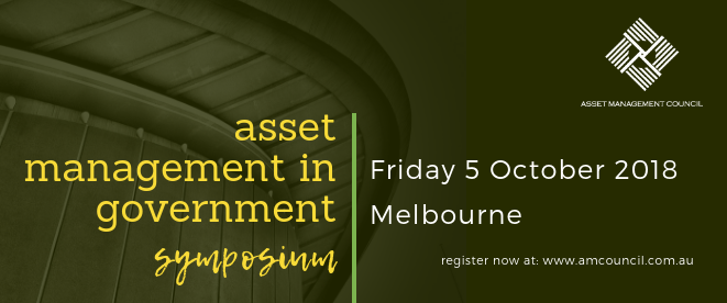 asset management in government Sympoisum 2018